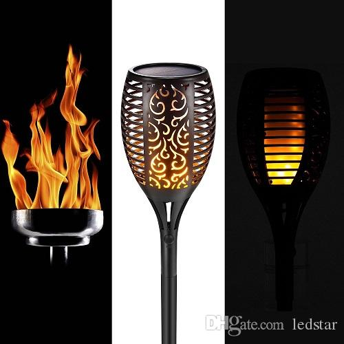 Best solar lawn lamp garden torch lights 96 led dancing flame best solar lawn lamp garden torch lights 96 led dancing flame lighting outdoor waterproof flickering tiki torches landscape light path lights under 2604 workwithnaturefo