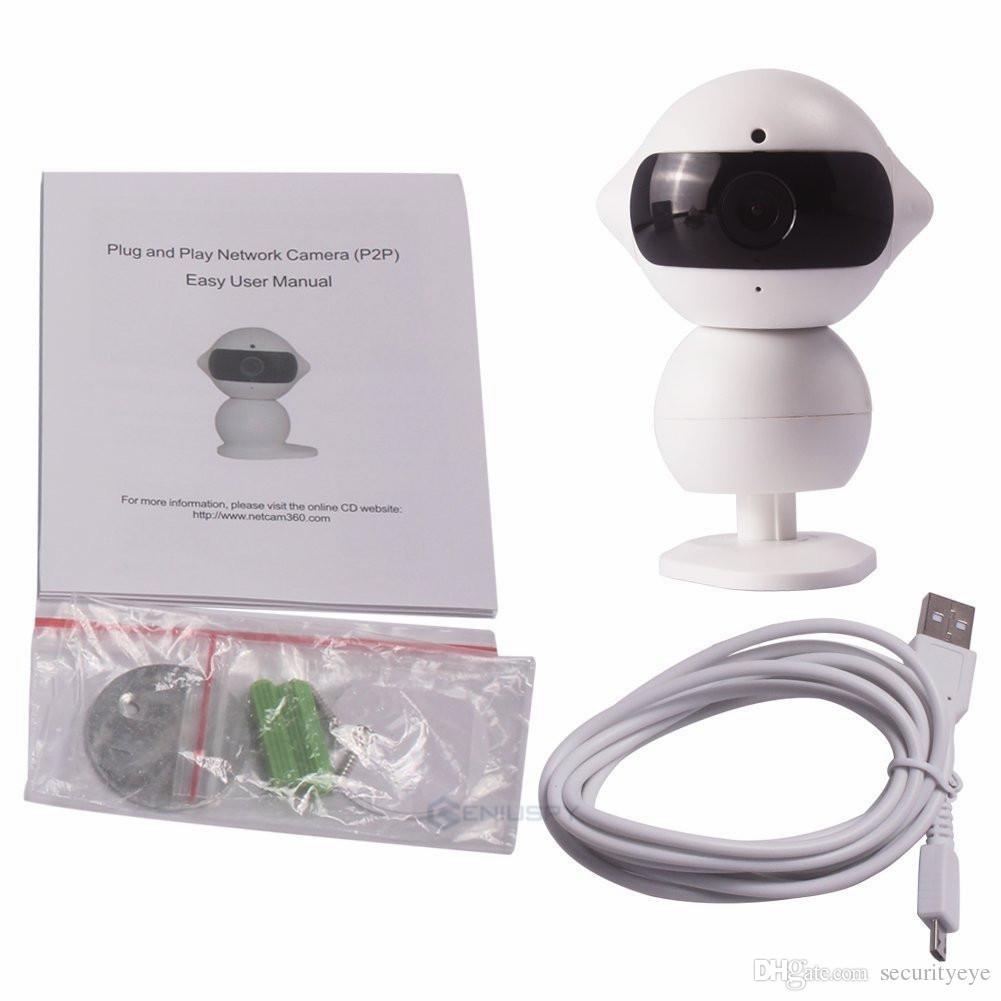 Mini-Roboter P2P 960P HD Wireless IP-Kamera mit WLAN-Hotspot-Auto-DVR-Fahrrekorder Echtzeit-Fernbedienung über iPhone iPad Android-Telefon IR-Nacht