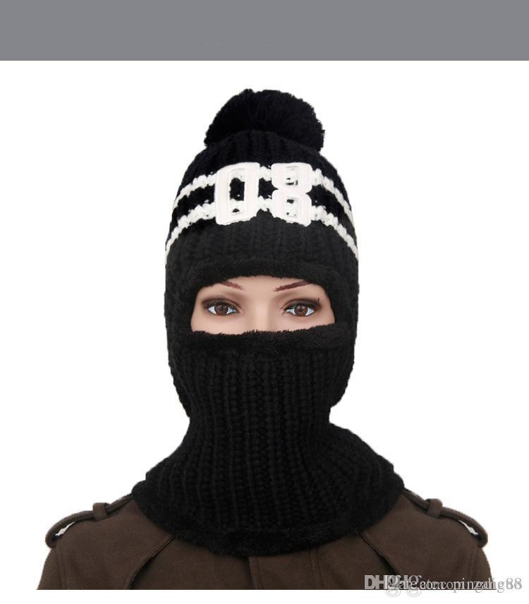 2018 Thickening Cycling Wool Hats Women Lovely Winter Cap Increase ... 733f7e864cca