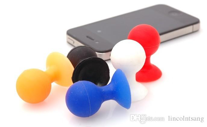Wholesale Octopus Holder Stand Sucker for Cell mobile Phone for iPhone5 5S 4S 4 3G 3GS for pad PSP color all phone