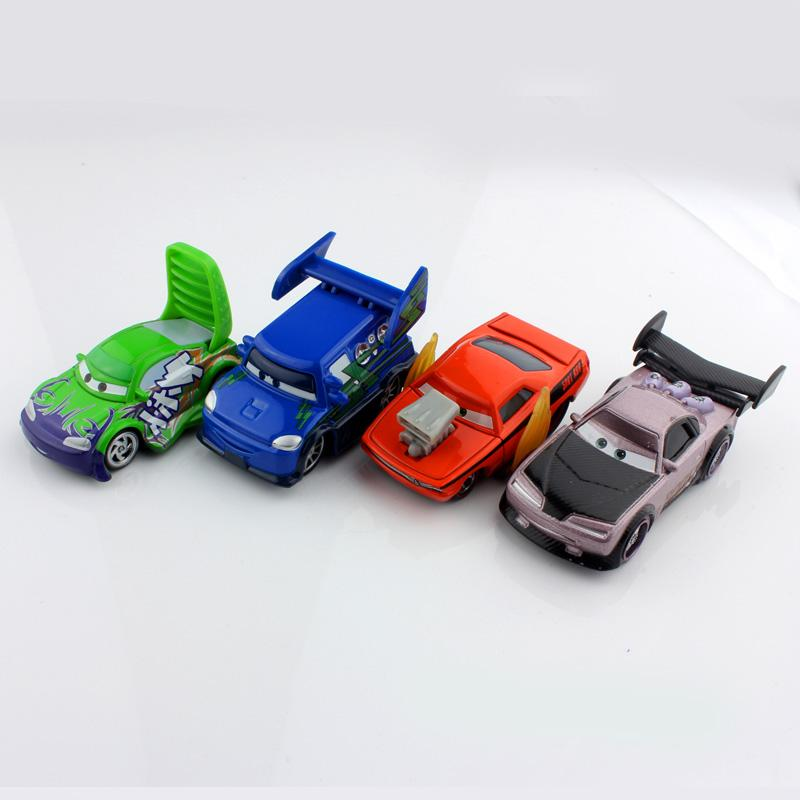 2017 pixar mini children cars 2 toys race wild fast car flame wingo snotrod pixar metal cars die cast figure models toys for boys kids from bolikui123