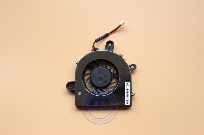 Original novo ADDA AB0505UX-QC3 DC5V 0.35A 6-31-w510s-100 (CWS3100) ventilador de refrigeração do portátil