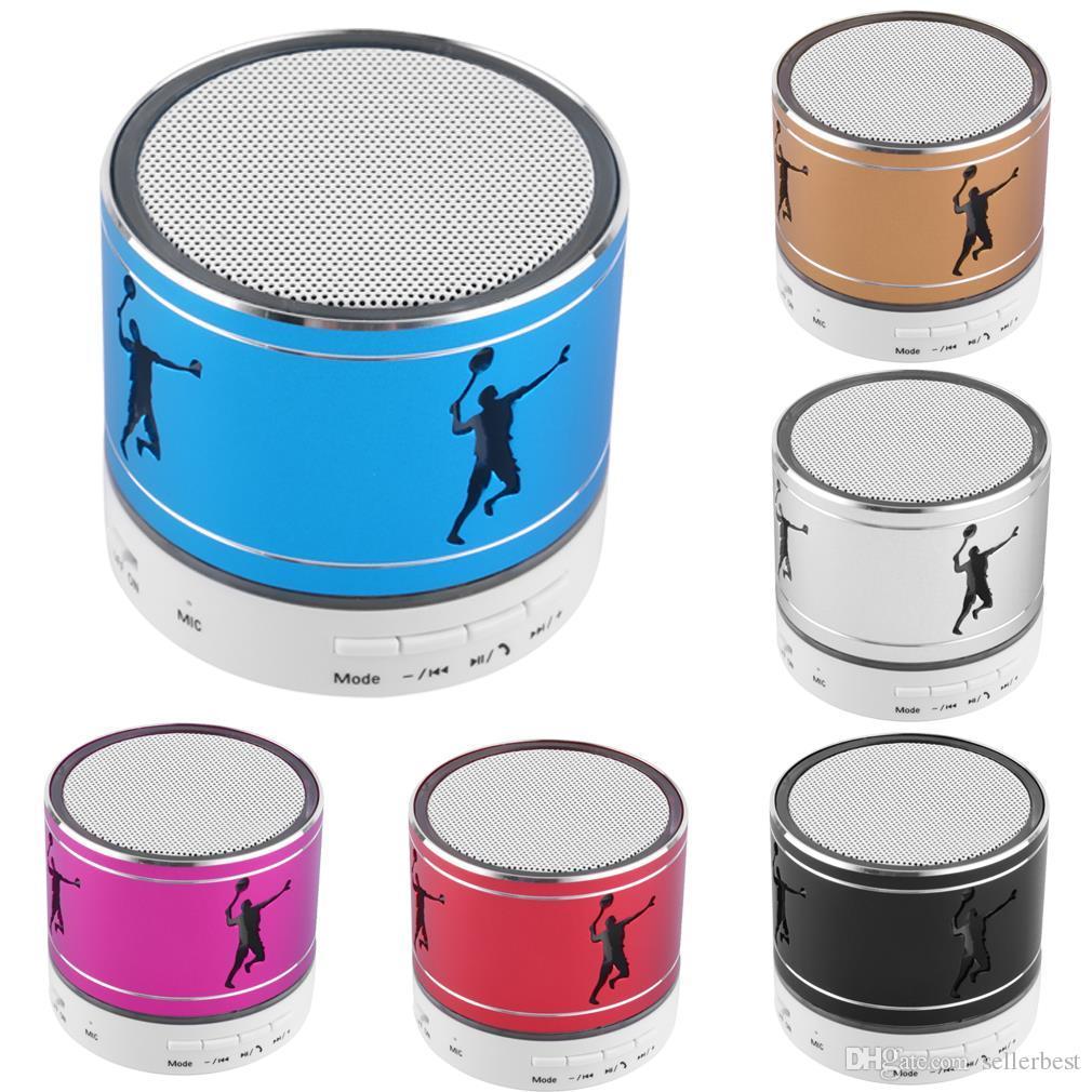I LOVE YOU U Hollow OUT Mini Haut-parleur Bluetooth Universel Sans-Fil Lumière LED Carte TF Stéréo Musique Boombox Hauts-Parleurs Tennis
