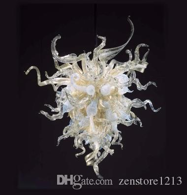 Chihuly style 100 handmade blown murano glass modern art chandelier chihuly style 100 handmade blown murano glass modern art chandelier small size art designed led light source hanging pendant lamps blown murano glass aloadofball Images
