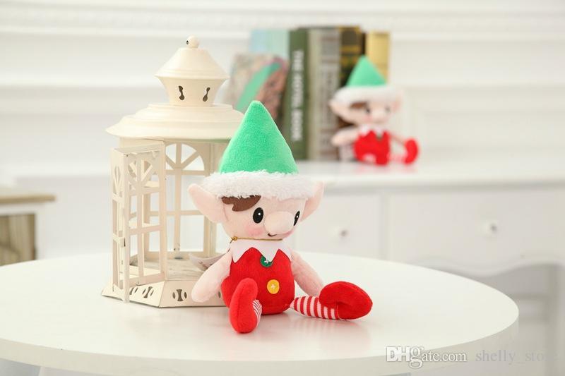 Christmas Elf doll Stuffed elf Arts and Crafts Elves Christmas decorate Kids Christmas Gift 30cm