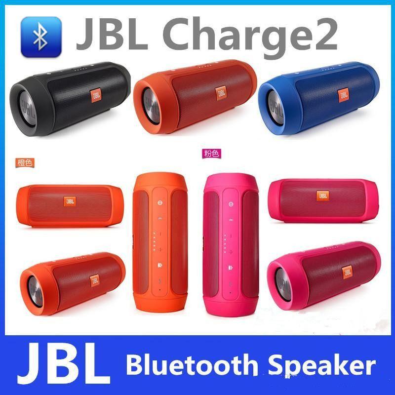 Portable Bluetooth Speaker Jbl Charge 2: 2019 JBL Charge 2 Bluetooth Speakers Portable Outdoor Subwoofer JBL Bluetooth Mini Speaker With