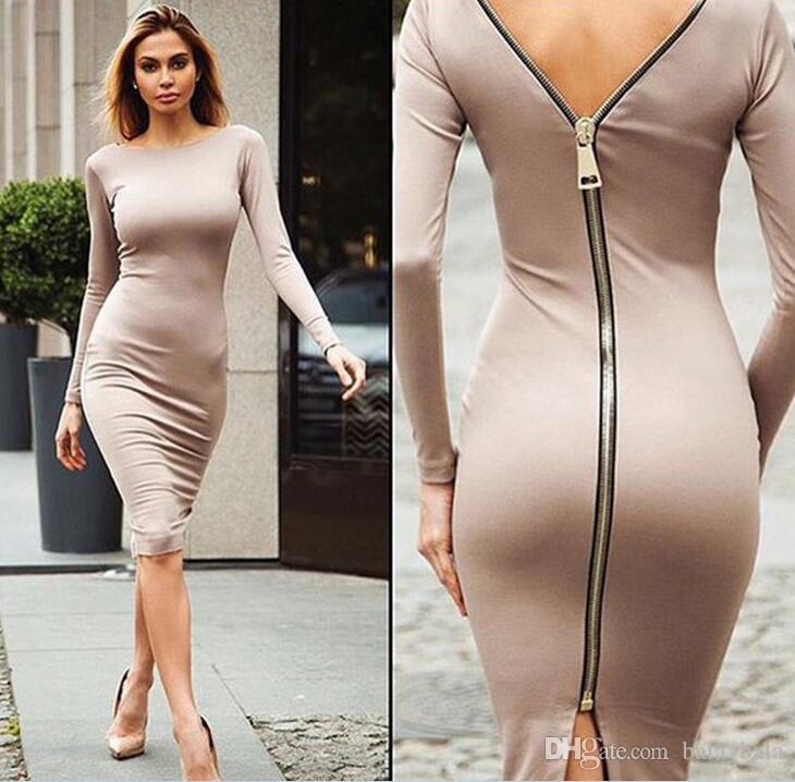 edcbce42e9f 2019 2016 New Fashion Women And Big Girl Night Out Party Sexy Dress Women  Backless Long Dress Dresses Good Quality Bandage Sexy Nightclub Dress From  ...