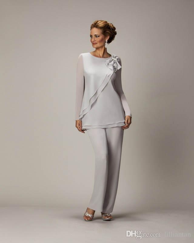 Acheter Mère De La Mariée Pantalons Costumes