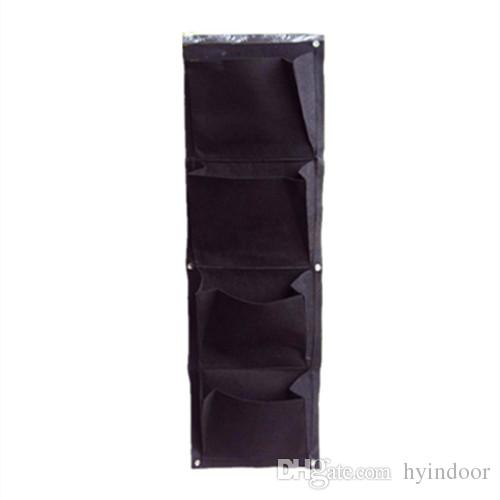 4 Layers Planting Nursery Vertical Hanging Bags for Gardening Vegetables