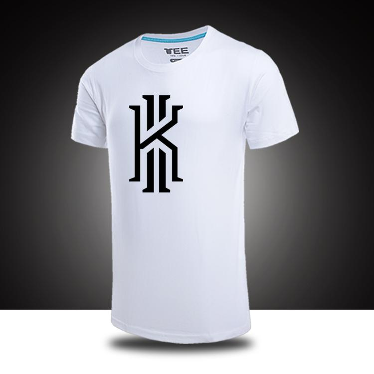 Wholesale Cheap Cleveland Basketball Kyrie Irving Logo Summer Fall  Personality Male Short Sleeve T Shirt 100% Cotton Cool T Shirts T Shirts  Online From ...