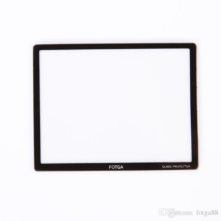 """New!FOTGA PRO Optical Glass Hard LCD Screen Protector For 2.7"""" 2.7 inch DSLR Camera"""