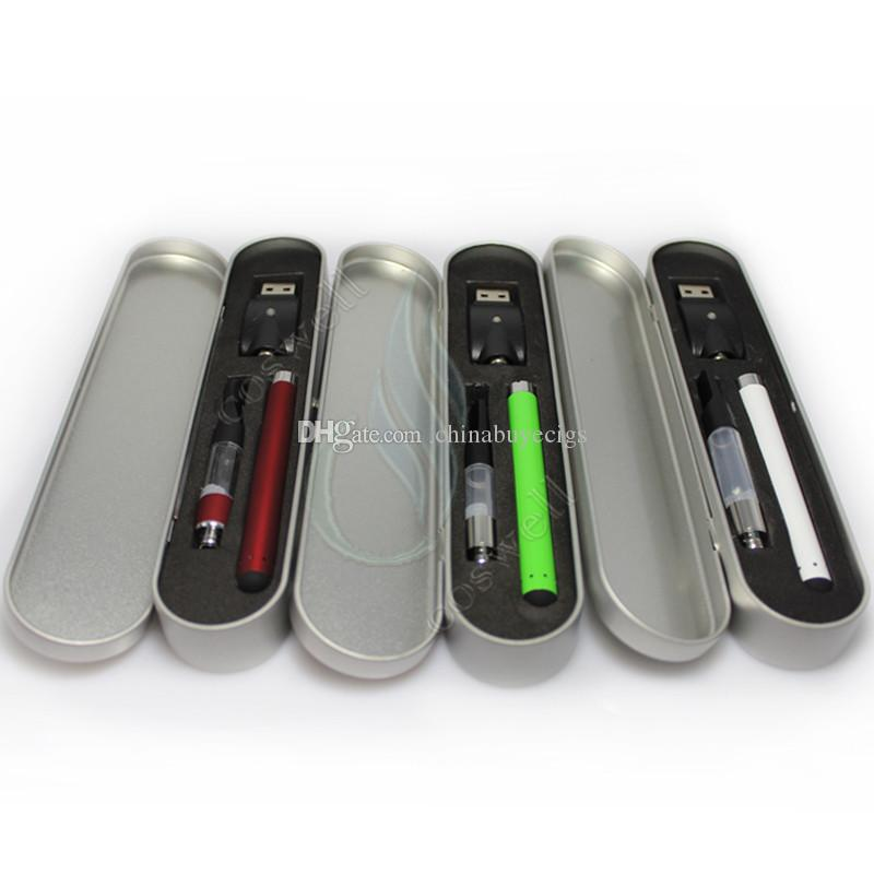 Bud touch vaporizer Colorful Starter Kits O Pen CE3 atomizers vape Oil thick Waxy Smoking wax Mini Tank 280mah battery e cigs vapor DHL