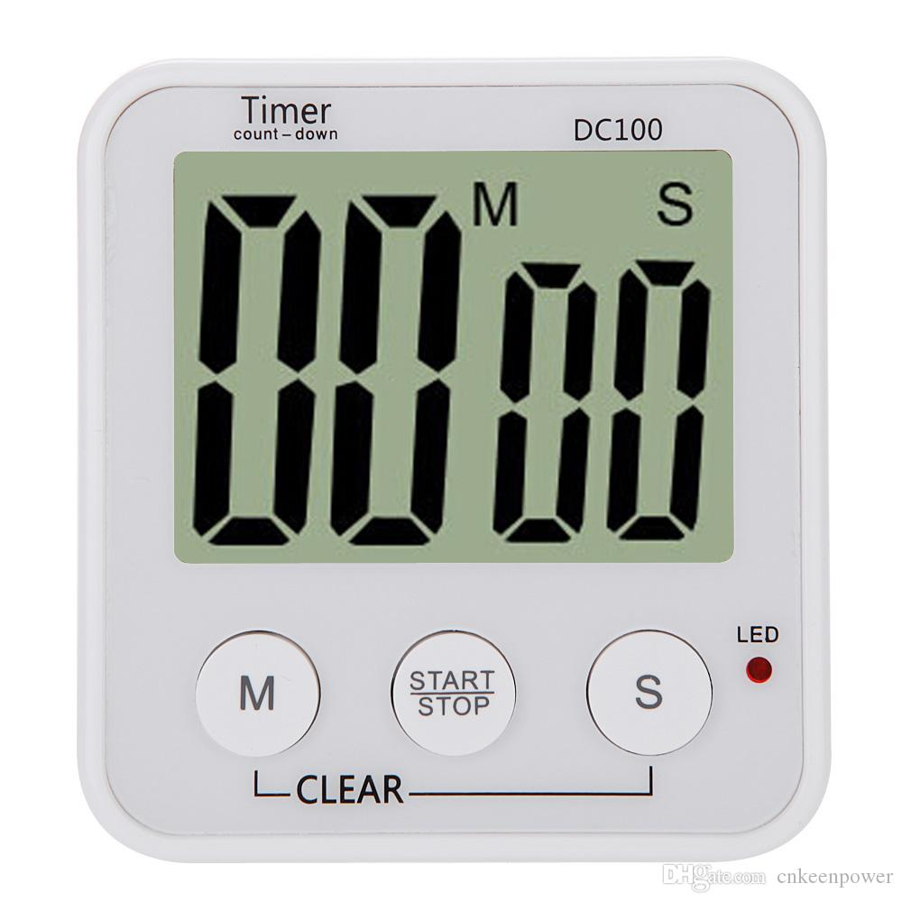 Cooking Tools LCD Digital Cooking Kitchen Countdown Timer Alarm ...