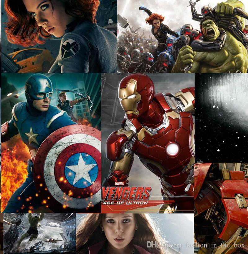 Acheter 3d Avengers Papier Peint Marvel Heroes Murale Capitaine