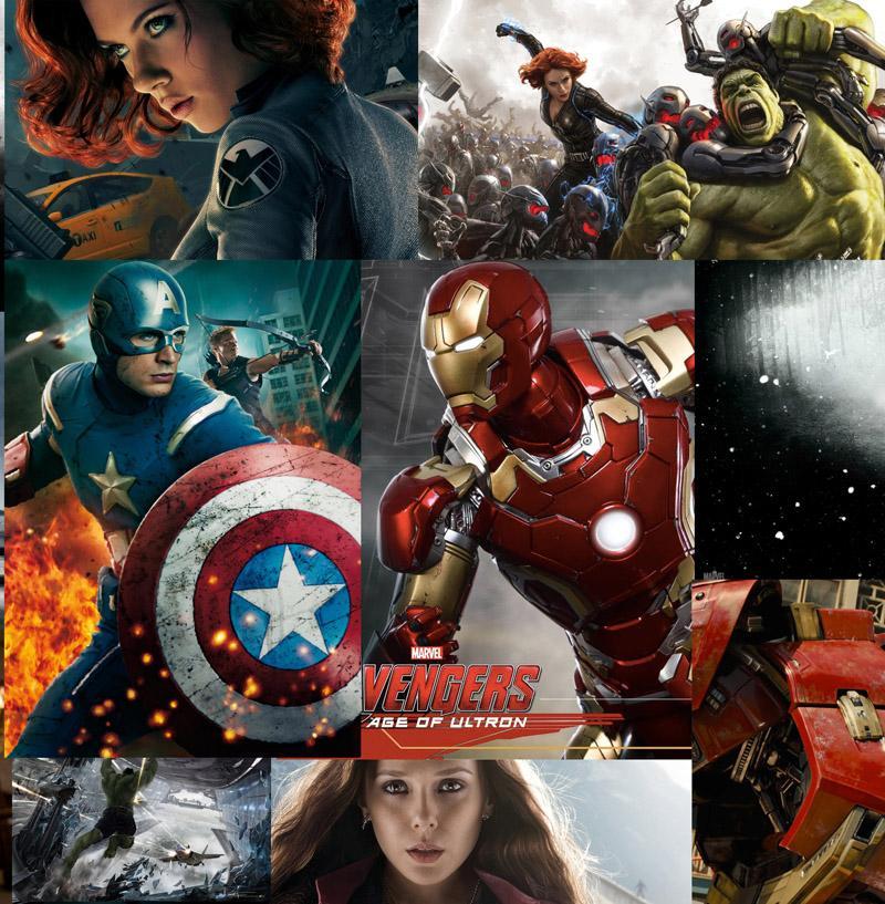 Ausmalbilder Marvel Helden Angel: Großhandel 3D Avengers Wallpaper Marvel Helden Wandbild