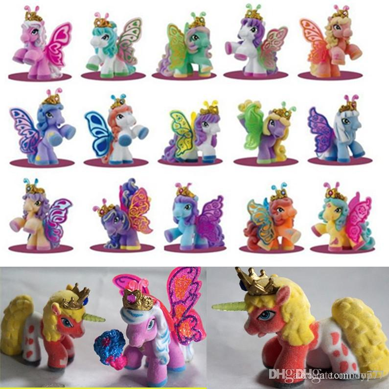 327a9654b8d 2019 Action Figures Simba Filly Butterfly Stars Witchy Unicorn Little Horse  Plush Dolls Flocking Process Opp Bag Packing Kid Gift Toy From Top77, ...
