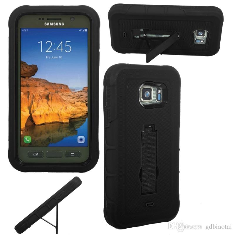 2016 Hot Sale Heavy Duty with Kickstand Rugged Hybrid Cell Phone Case TPU+PC For Samsung G891