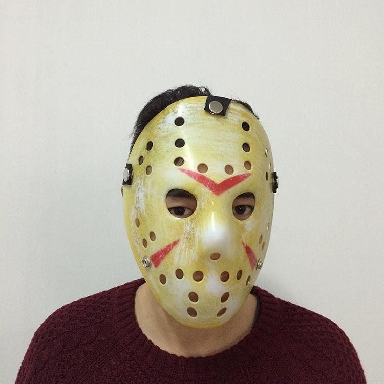 DHL!Hot Halloween mask New Jason Cosplay maskes Costume party Horror funny mask Halloween Killer Mask