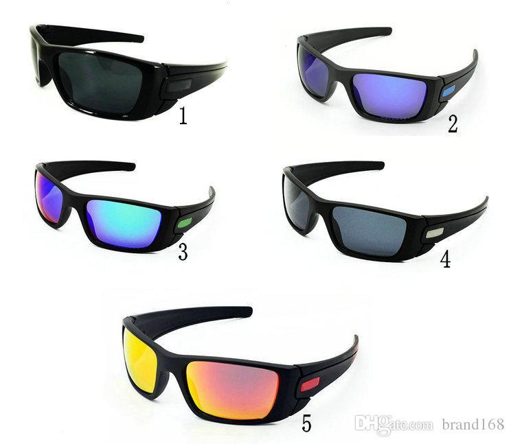 New Fashion Men\' S Women\'s Black Frame Bicycle Glass Sun Glasses ...