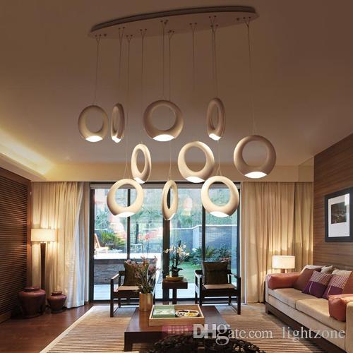 Großhandel Led Pendelleuchten Post Moderne Kreative Künstlerische  Persönlichkeit Japanischen Stil Führte Pendelleuchten Für Villa Bar Büro  Wohnzimmer ...