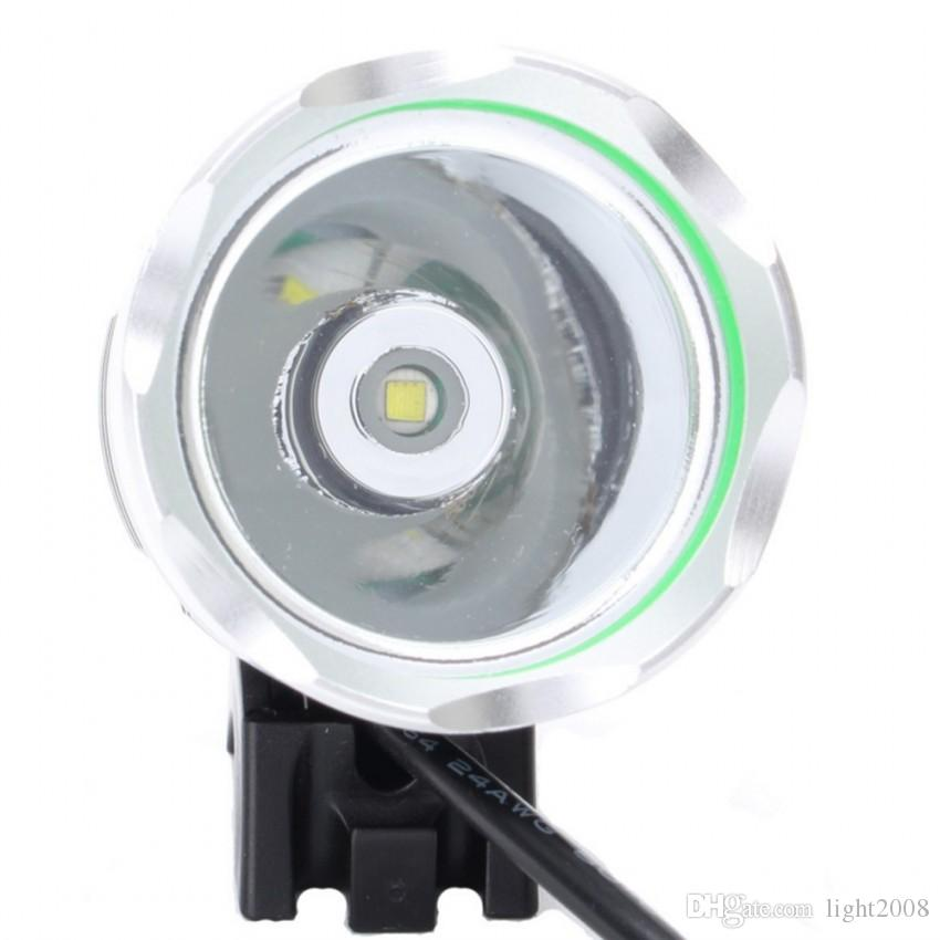 1800 Lumen CREE XM-L T6 LED Bicycle Bike Led Light Headlight +6400mah battery