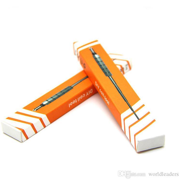 Nuova bobina micro bobina Blister pack fai da te RBA RDA atomizzatore bobine Gig acciaio inossidabile bobina utensile SS Wick Jig wrapping coil