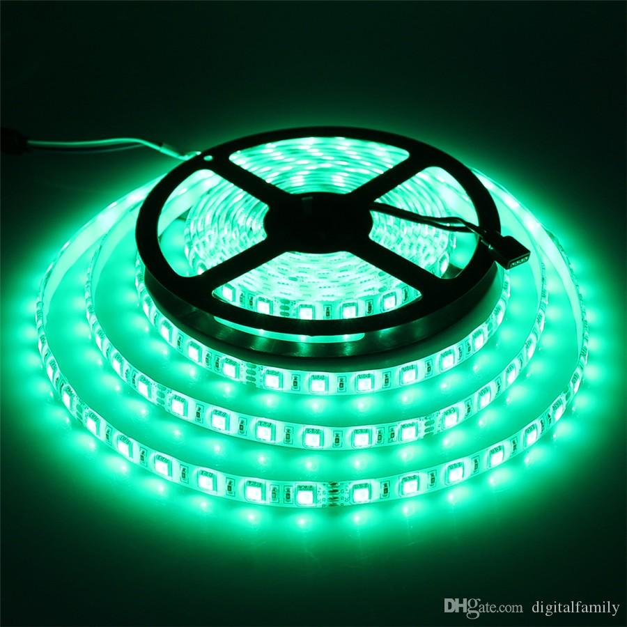 5M 24V LED قطاع 5050 300led IP20 نون ماء مرنة الإضاءة أدت الشريط الشريط في الهواء الطلق الديكور أدى الشريط الدافئة الأبيض الأبيض RGB الأحمر