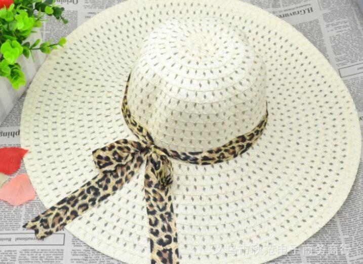 дамы летние широкие поля шляпы лук лента вдоль пляжа шляпа соломенная шляпа солнца шляпа большие поля шляпа складной шляпа полые