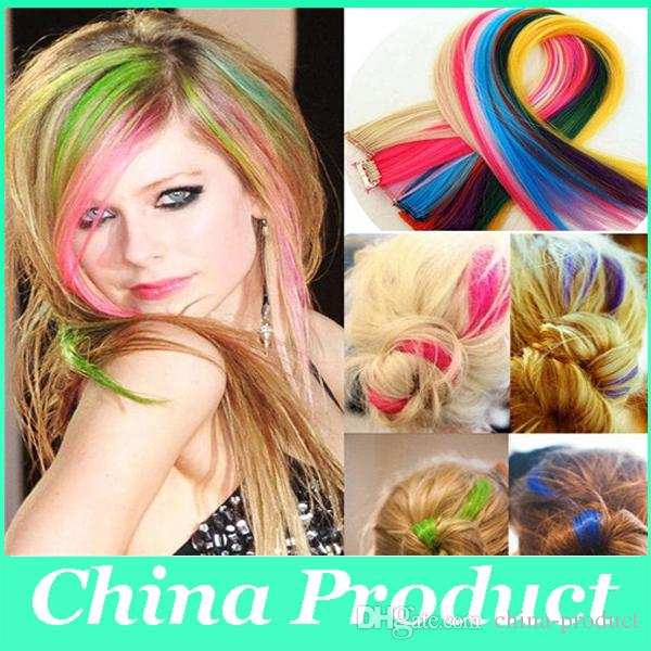 Hot Sale Clip On In Hair Extensions Ful Straight Hair Toupee