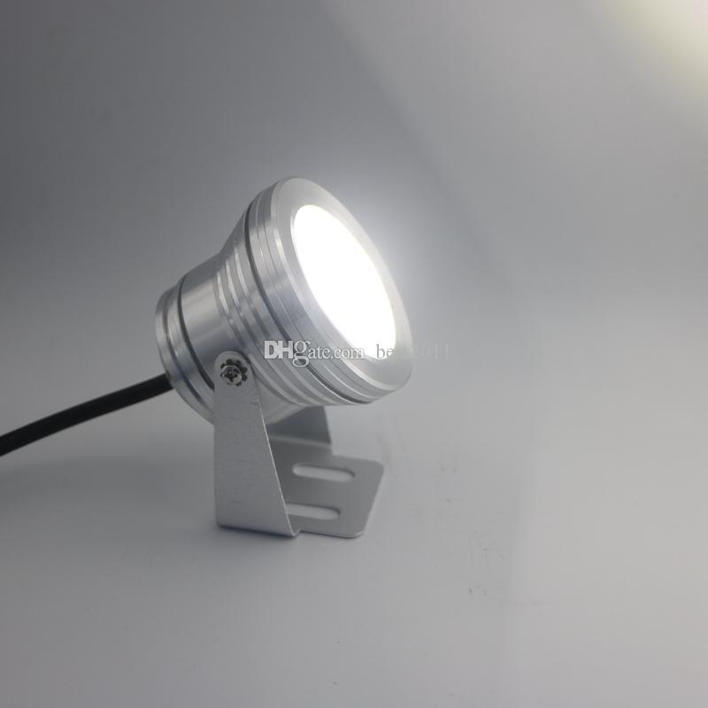 10w 12v LED Sous-marin Lumière Sous-marine Projecteur Étanche Projecteur Pour Étang De Piscine Aquarium Réservoir Étanche