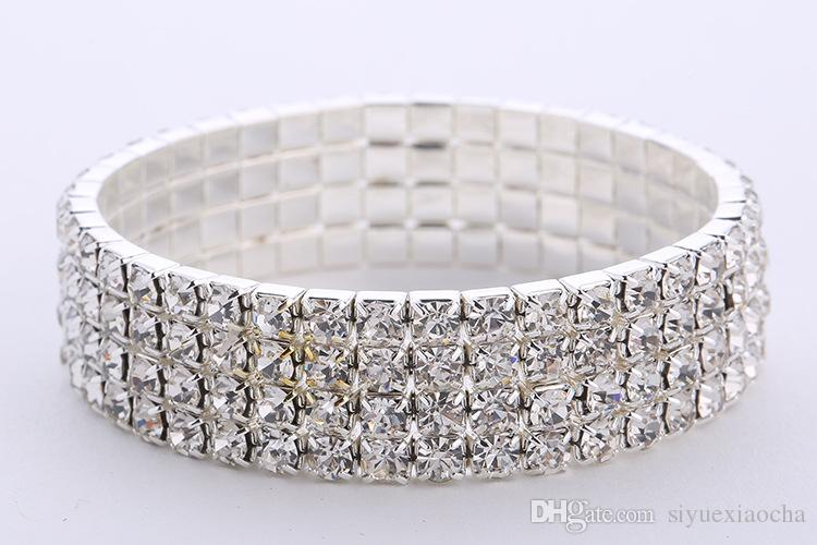 Полный Алмаз сверкающих браслет, Браслет, для свадьбы, благородный тонкий и красивый для женщин, бесплатная доставка и высокое качество