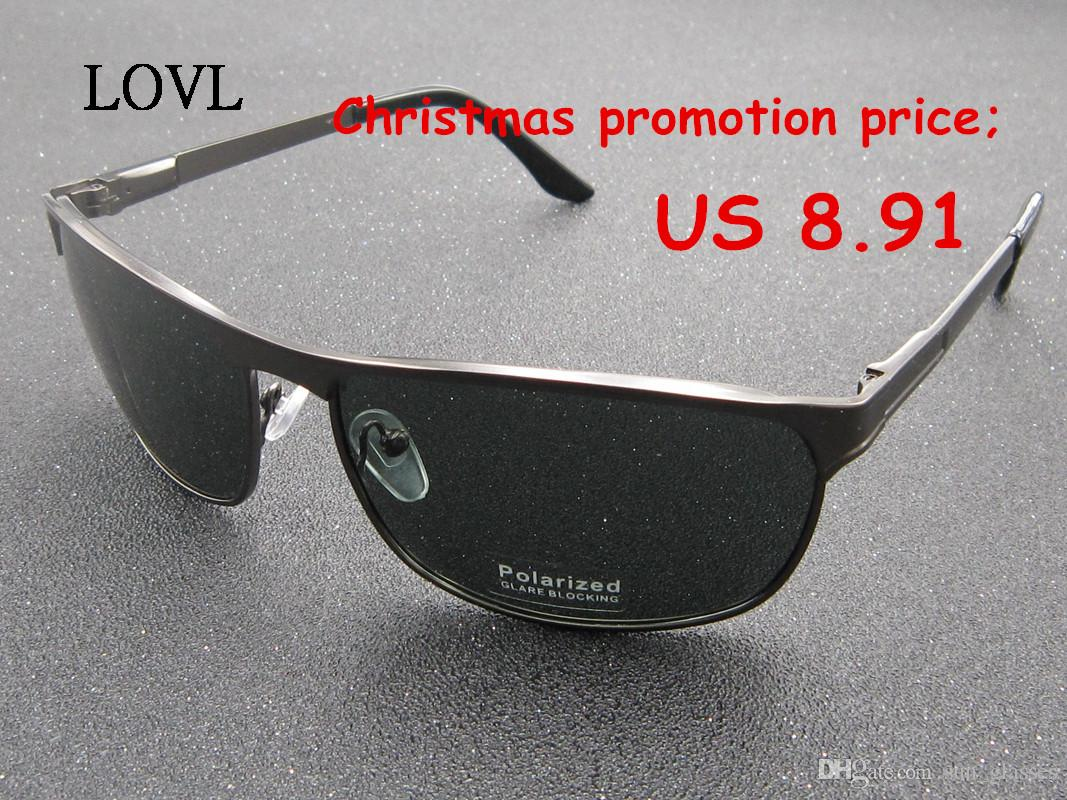 Cheap men women sunglasses christmas promotion gift presents metal