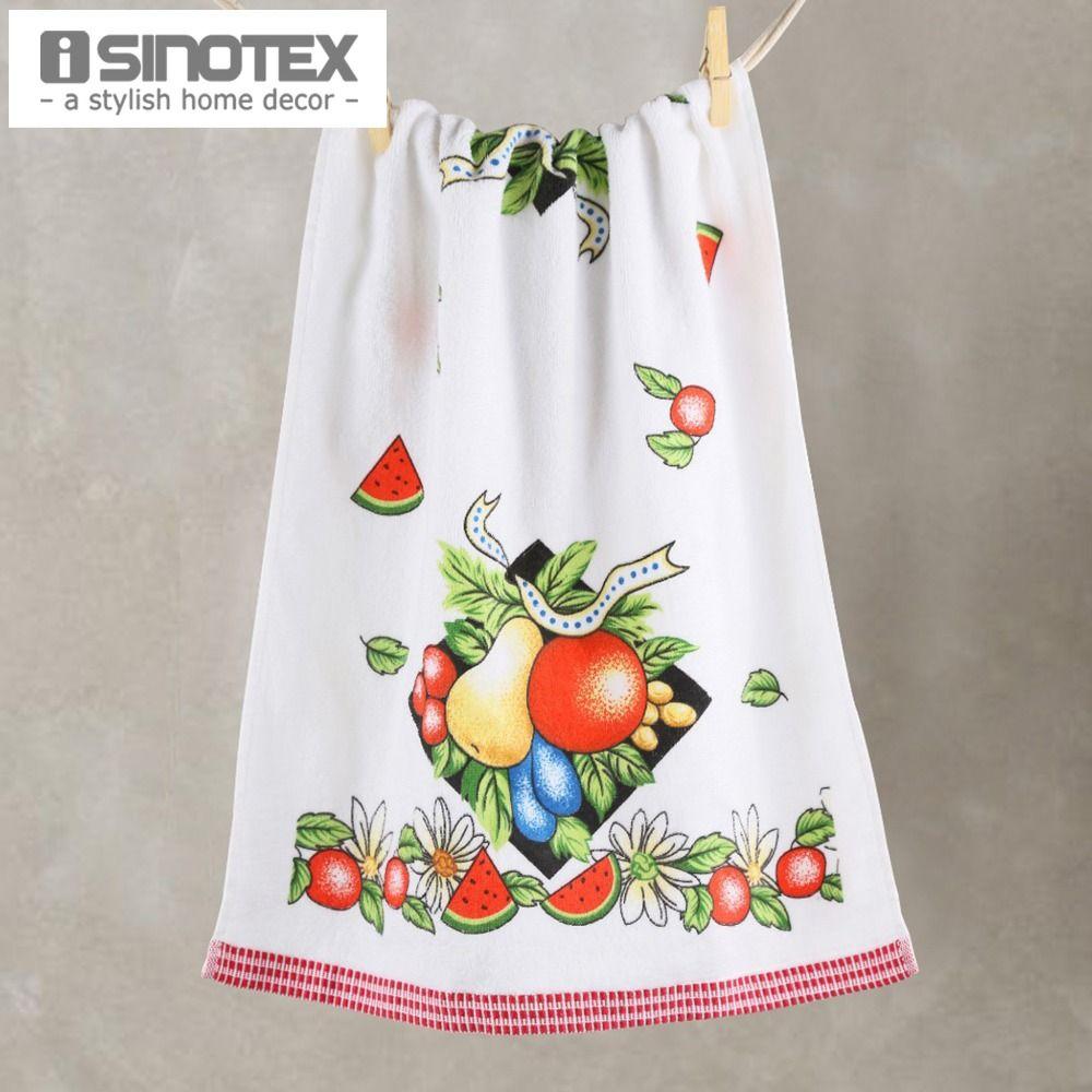 2019 Kitchen Towel Dishtowel 100 Cotton Dish Towel 43x71cm Printed