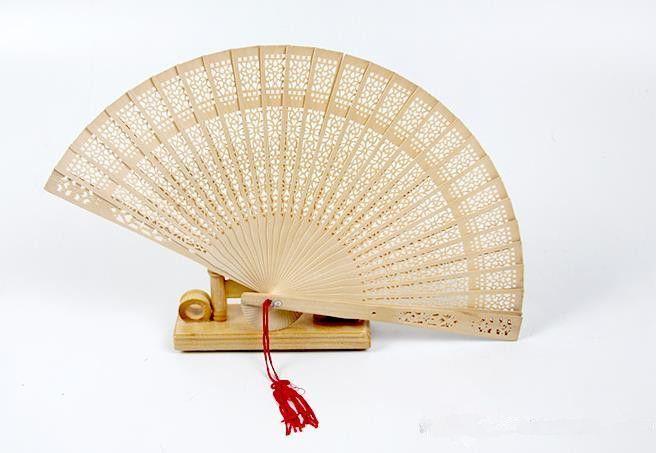 in bulk personalized wood wedding favours fan party giveaways sandalwood folding hand fans