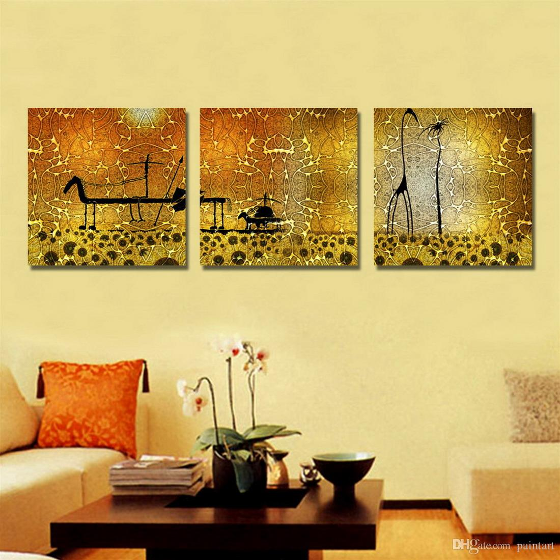 Online Cheap Contemporary Abstract Painting Giclee Print On Canvas ...