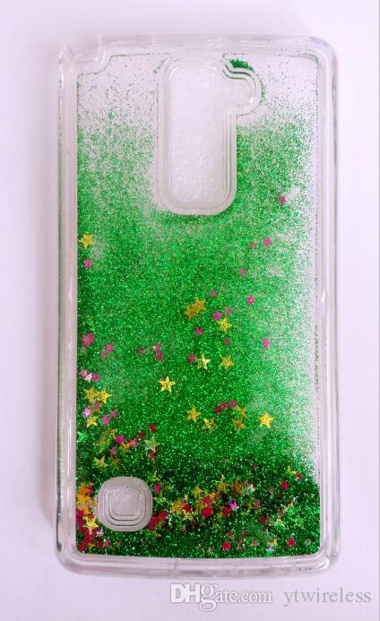 For LG G5 G4 Beat V10 G4 Stylus G3 G2 Floating Star Cases Cheap Soft Colorful Bling TPU Liquid Oil Glitter Water Case