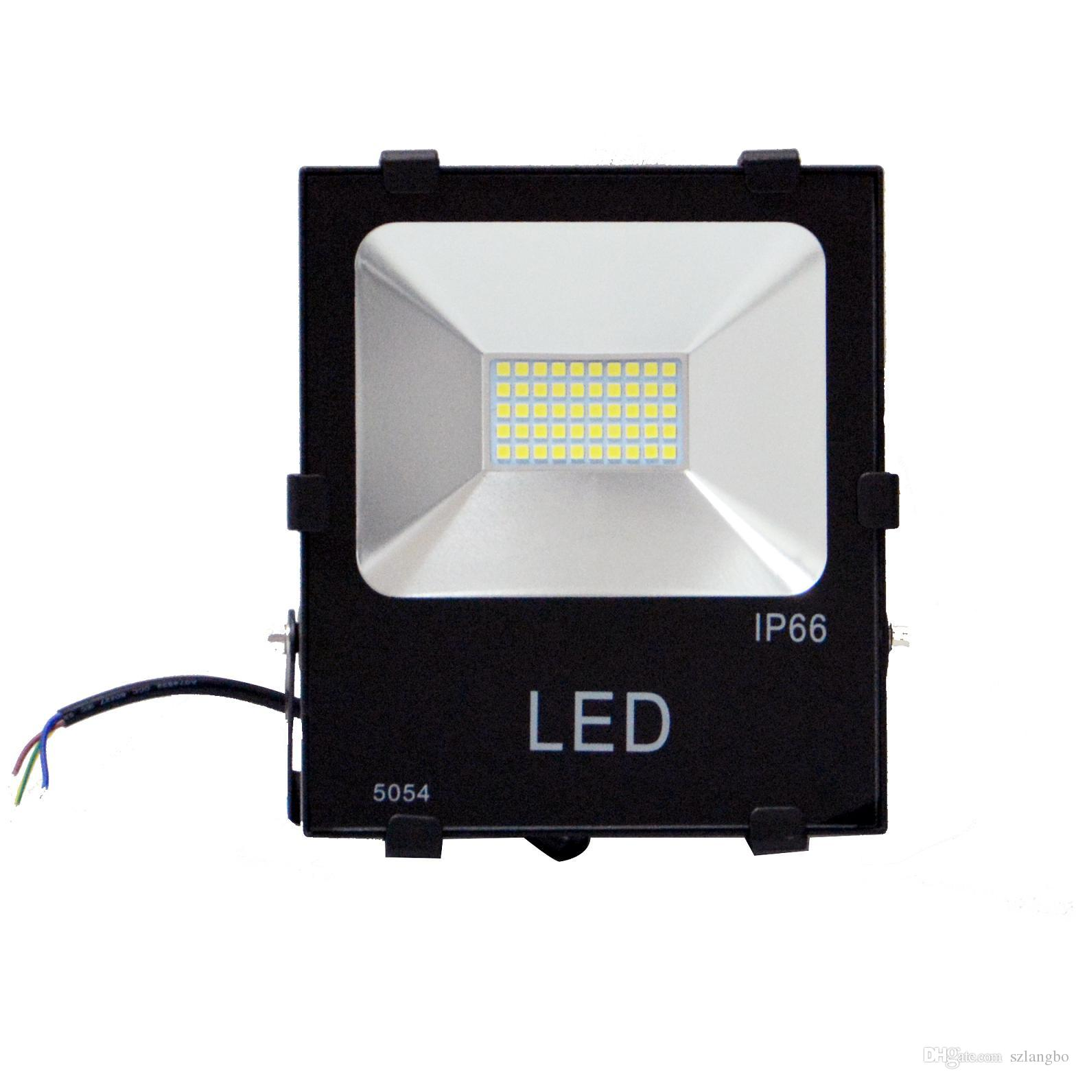 products black flood built aray led lighting light in havit