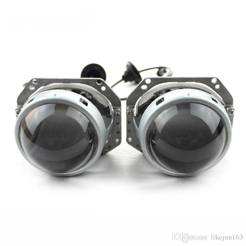 """New 3.0"""" 35W bi-led headlight projector lens led headlamp for car headlight assembly with cooling fan"""