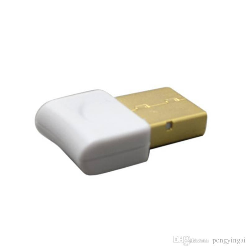 The white square bluetooth Adapter, bluetooth 4.0 wireless receiver bluetooth 4.0 Adapter Hot sale