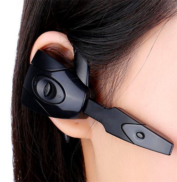 جديد العقرب الأذن هوك قابلة للشحن سماعة بلوتوث الألعاب سماعة بلوتوث بارد لعبة لاسلكية سماعة ل PS3 / PC / الهاتف المحمول
