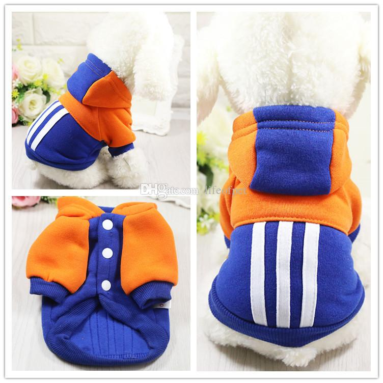 Cute Dog Clothes Pet Costume Cotton Coat Cat Pet Clothing for Small Dogs Puppy Hooded Jacket Chihuahua XS-XXL