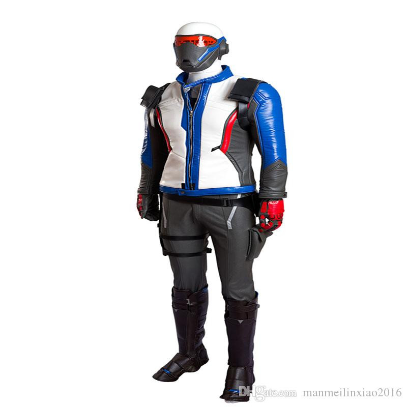 New Full Suit Game Show 76 Soldier Cosplay Jacket Coat Costume