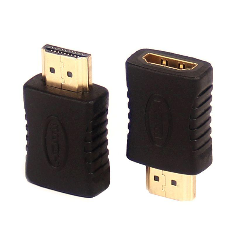 HD12 HDMI Male To HDMI Female 2 Converter Connector Adapter