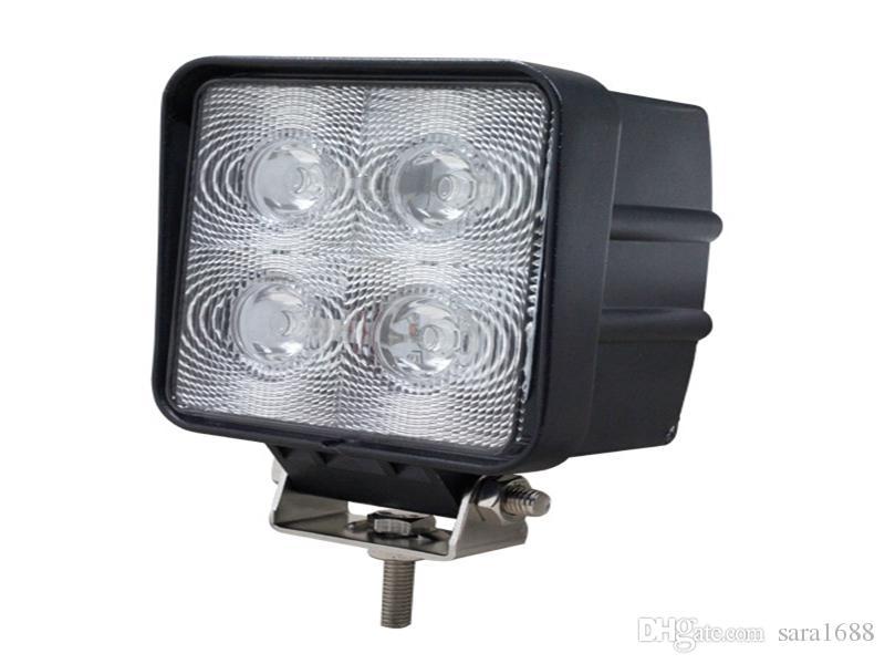 factory price 4inch 40W LED Work Light Tractor Truck 12v 24v SPOT flood Offroad LED Drive light LED Worklight External Light