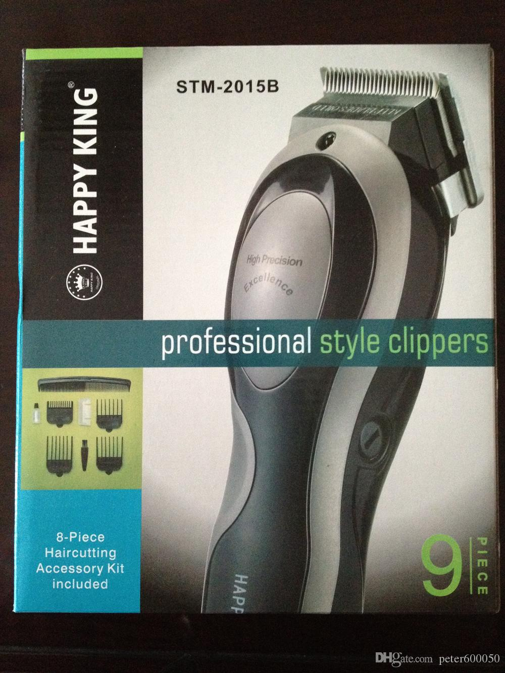 Envío gratis BJT Tijeras de pelo Professional super Hair Trimmer UK.EU.US plug, 110V y 220V