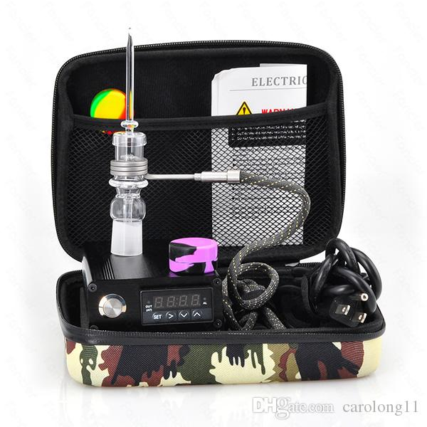 Cheap Quartz Nail Electric Dab Nail Complete Kit withTemperature Controller 100w for Rig Oil Glass Bongs water pipe