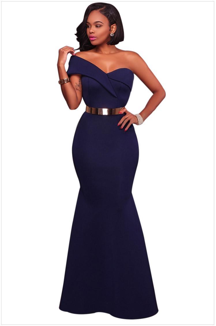 Großhandel Merimaid Abendkleider Lange Kleider 2018 Elegante Sexy ...