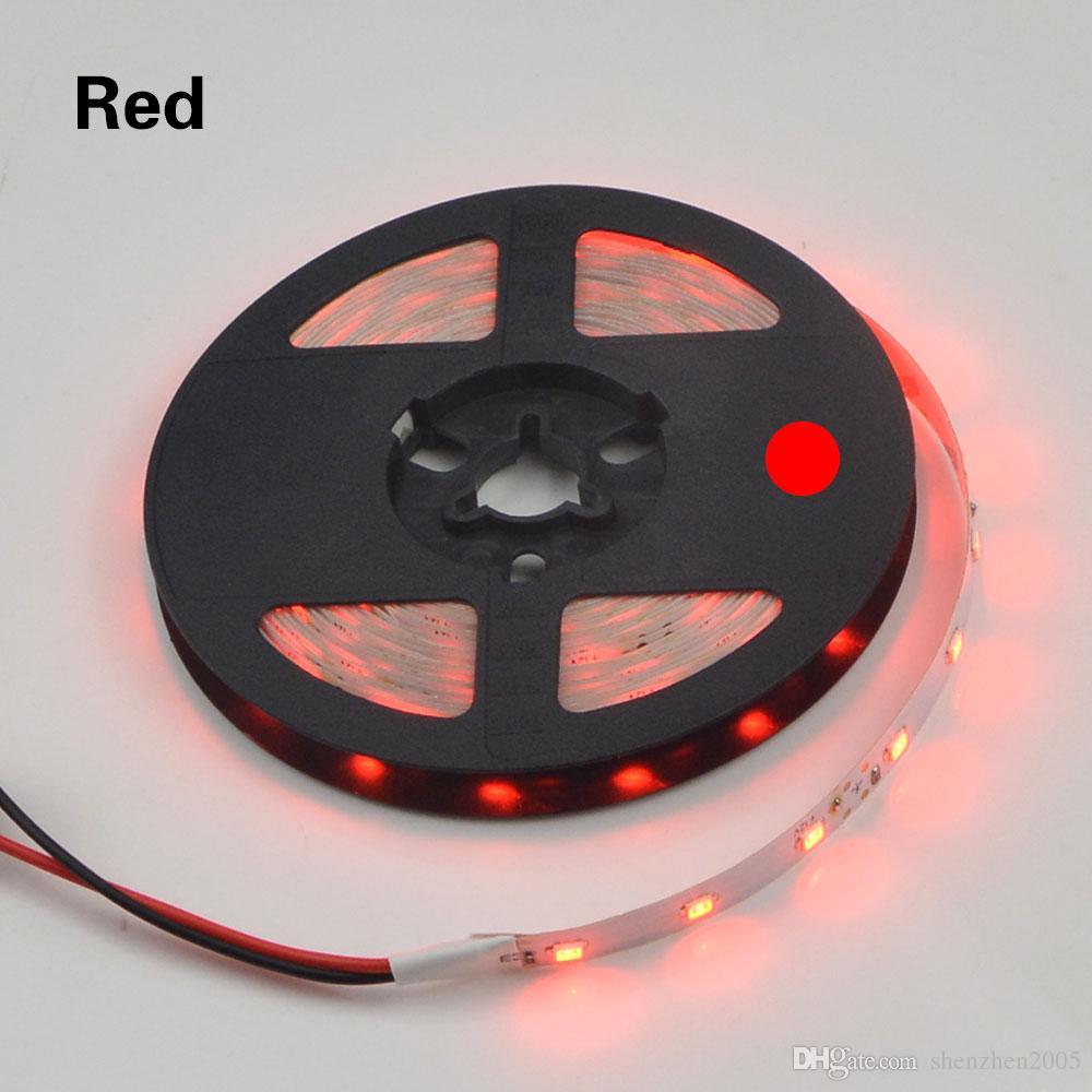 SMD 2835 RGB LED Şerit ışık 300 LEDs / 5 M Yeni Yıl Dize Şerit lamba 3528 3014 daha Düşük Daha Parlak Fiyat 5050 5630 Bant