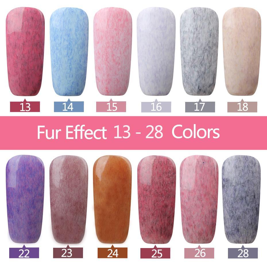 Wholesale 2017 New For Nail Art Long Lasting Faux Fur Effect Nail
