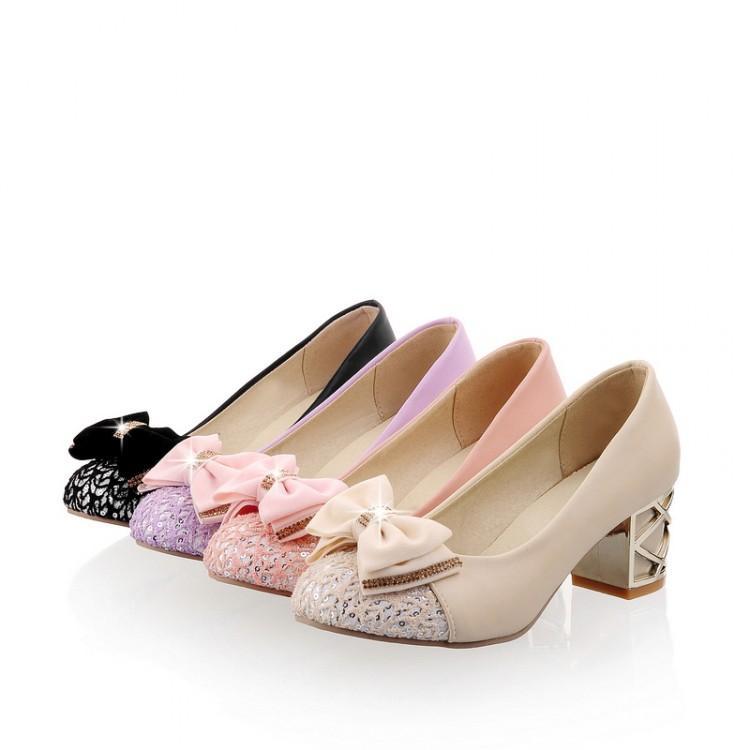 El período de primavera y otoño, en los zapatos de zapatos de código de grasa femeninos documentales adecuados.